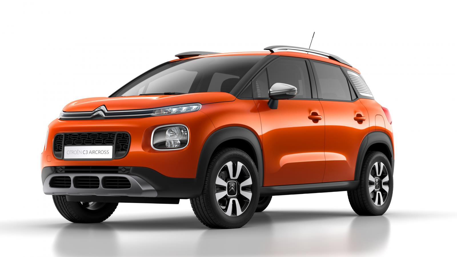 SUV Compact C3 Aircross - Spicy Orange